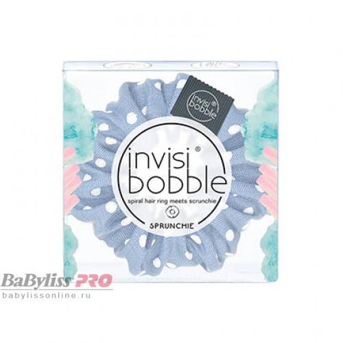Резинка-браслет для волос invisibobble Sprunchie Dot's It Голубой 3170