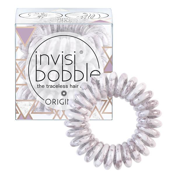 Резинка-браслет для волос invisibobble Original St. Taupez Кофейно-серый мрамор 3 шт 3199