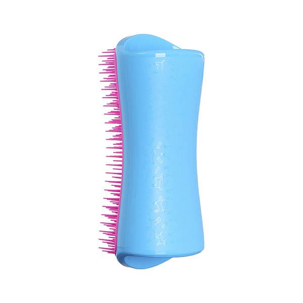 Расческа для распутывания шерсти большая Pet Teezer Detangling & Dog Grooming Brush Blue & Pink ROW-DS-BP-010918