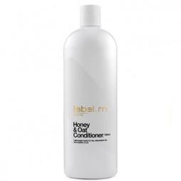 Кондиционер питательный для сухих волос label.m Мед и Овес Honey & Oat Conditioner 1000 мл LCHO1000