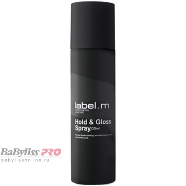 Спрей для волос label.m Фиксация и блеск Hold & Gloss 200 мл LFHG0200