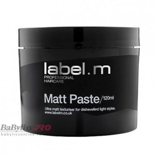 Матовая паста для укладки волос label.m Matt Paste 120 мл LFMP0120