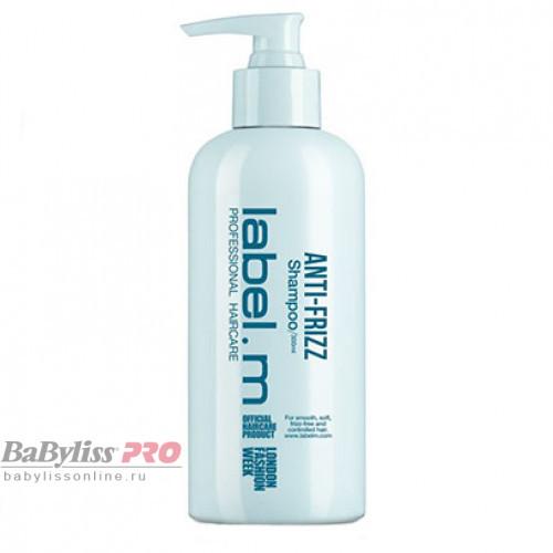 Шампунь разглаживающий label.m Anti-Frizz Shampoo 300 мл LSAF0300