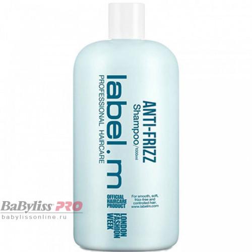 Шампунь разглаживающий label.m Anti-Frizz Shampoo 1000 мл LSAF1000