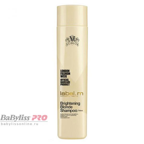 Шампунь осветляющий для блондинок label.m Сияющий Блонд Brightening Blonde Shampoo 300 мл LSBB0300