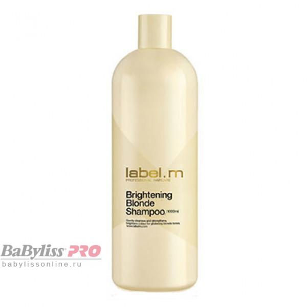 Шампунь осветляющий для блондинок label.m Сияющий Блонд Brightening Blonde Shampoo 1000 мл LSBB1000