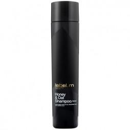 Шампунь питательный для сухих волос label.m Мед и Овес Honey & Oat Shampoo 300 мл LSHO0300
