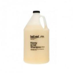 Шампунь питательный для сухих волос label.m Мед и Овес Honey & Oat Shampoo 3750 мл LSHO3750