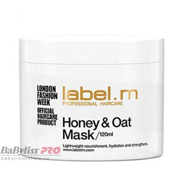 Маска питательная для сухих волос label.m Мед и Овес Honey & Oat Mask 120 мл LTHO0120