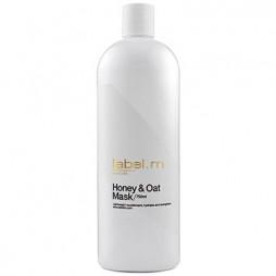 Маска питательная для сухих волос label.m Мед и Овес Honey & Oat Mask 750 мл LTHO0750