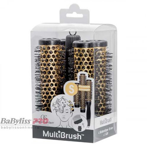 Набор брашингов со съемной ручкой Olivia Garden MultiBrush Barrel 26 мм BR-MBKT5-TH26B