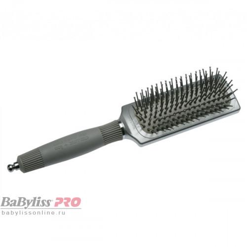 Щетка для волос Olivia Garden Ceramic+Ion XL Pro Small OGBCIXLP1S серая