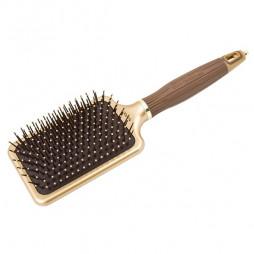 Щетка для волос Olivia Garden Ceramic+Ion NanoThermic OGBNTPDL коричневая