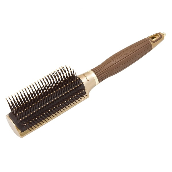 Щетка для волос Olivia Garden Ceramic+Ion NanoThermic OGBNTS9R 9 рядов коричневая
