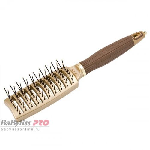 Щетка для волос Olivia Garden Ceramic+Ion NanoThermic Styler Vent OGBNTVTS коричневая