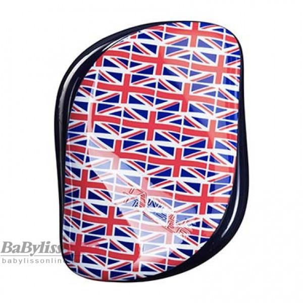 Расческа Tangle Teezer Compact Styler Cool Britannia Британский флаг 2018