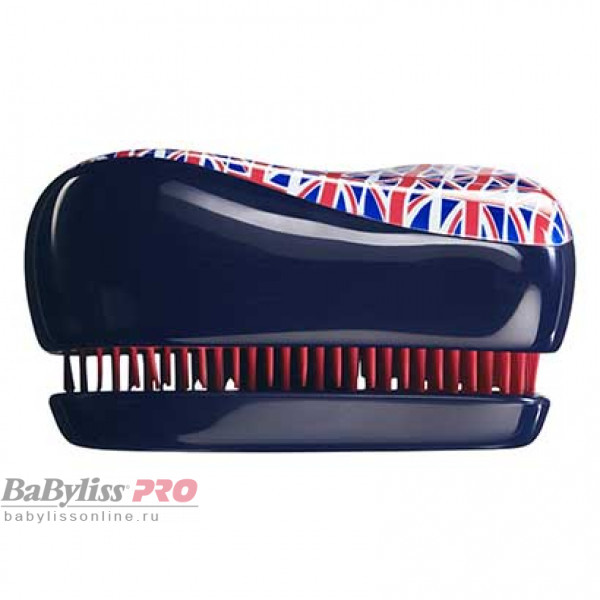 Расческа Tangle Teezer Compact Styler Cool Britannia Британский флаг 2018