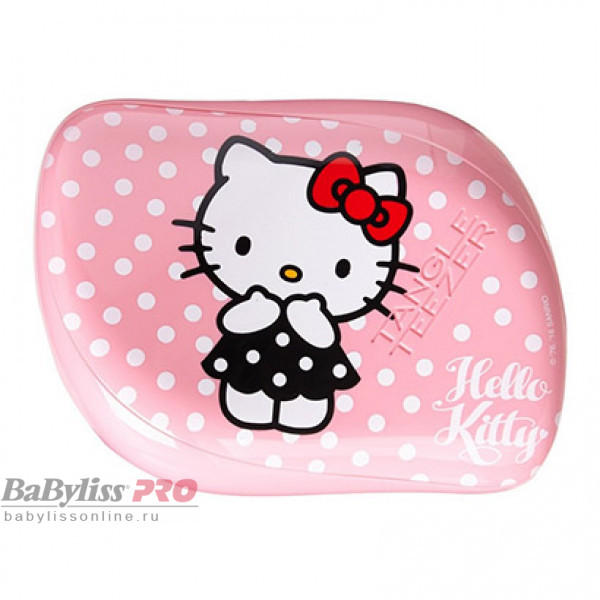 Расческа Tangle Teezer Compact Styler Hello Kitty Pink Розовый 2080