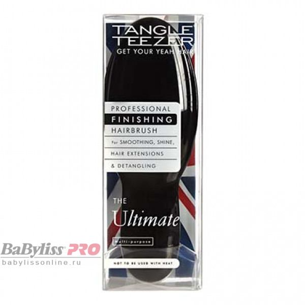 Расческа Tangle Teezer The Ultimate Black Черный 2082