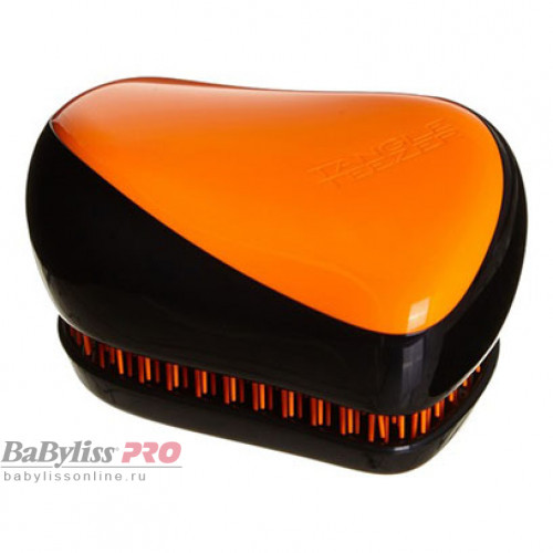 Расческа Tangle Teezer Compact Styler Orange Flare Черный/оранжевый 2085