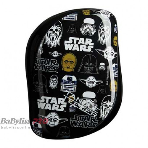 Расческа Tangle Teezer Compact Styler Star Wars Iconic Черный 2088