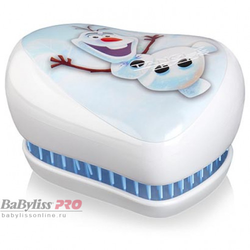 Расческа Tangle Teezer Compact Styler Disney Olaf Белый 2101