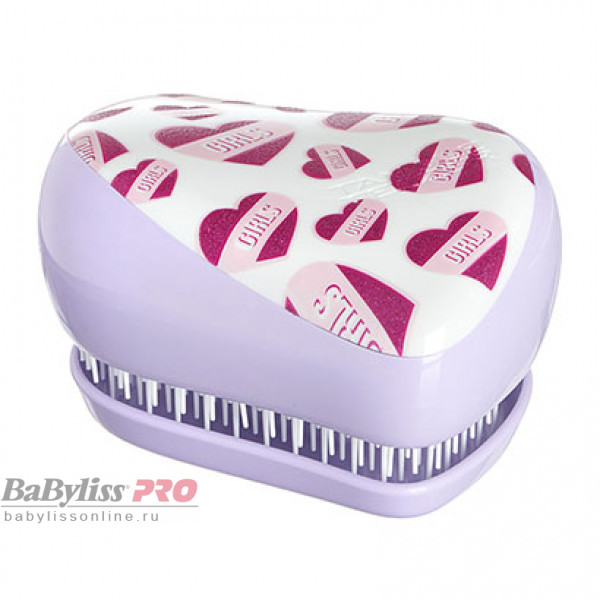 Расческа Tangle Teezer Compact Styler Girl Power Сиреневый/Розовый 2117