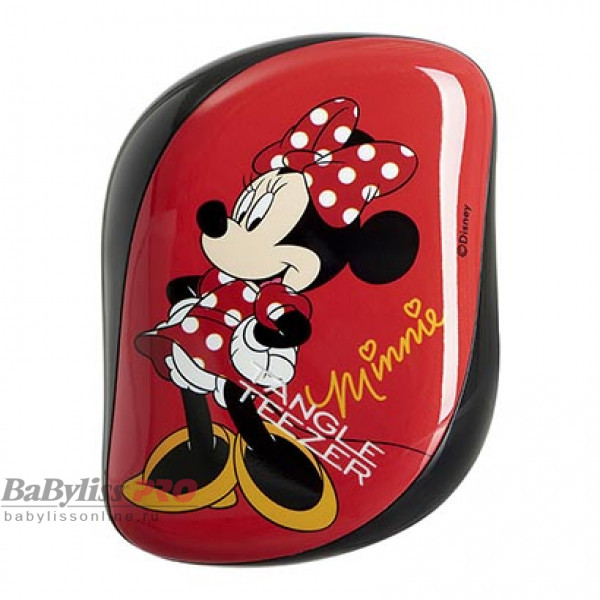 Расческа Tangle Teezer Compact Styler Minnie Mouse Rosy Red Красный 2120