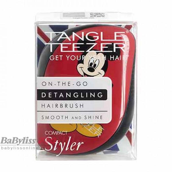 Расческа Tangle Teezer Compact Styler Mickey Mouse Красный 2121