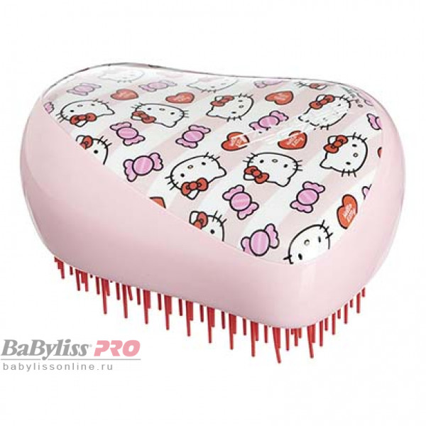 Расческа Tangle Teezer Compact Styler Hello Kitty Candy Stripes Розовый 2122