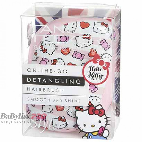 Расческа Tangle Teezer Compact Styler Hello Kitty Candy Stripes Розовый 2122