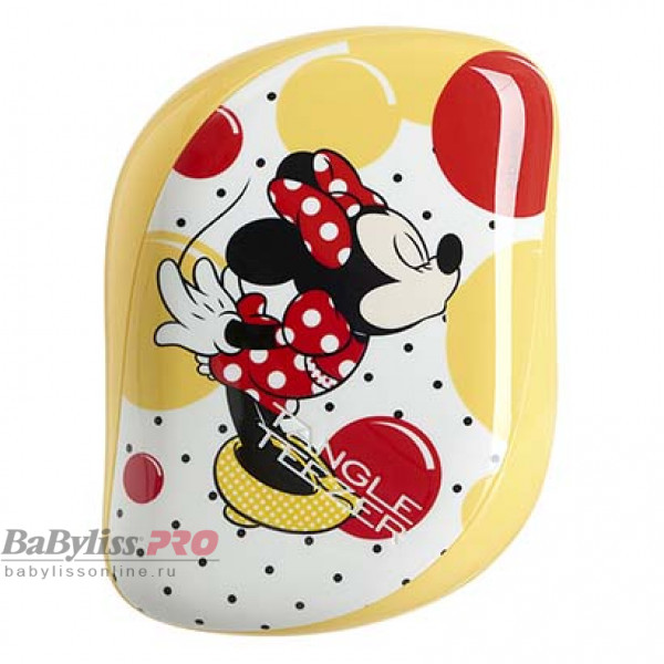 Расческа Tangle Teezer Compact Styler Minnie Mouse Sunshine Yellow Желтый 2123