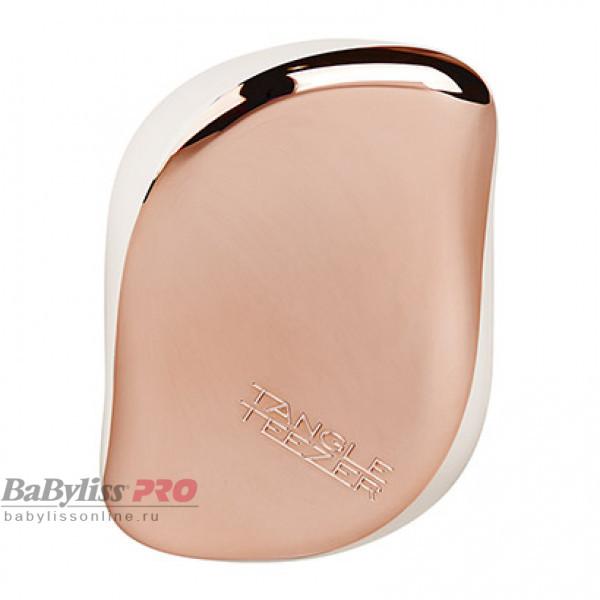 Расческа Tangle Teezer Compact Styler Rose Gold Luxe Розовое золото/Белый 2124