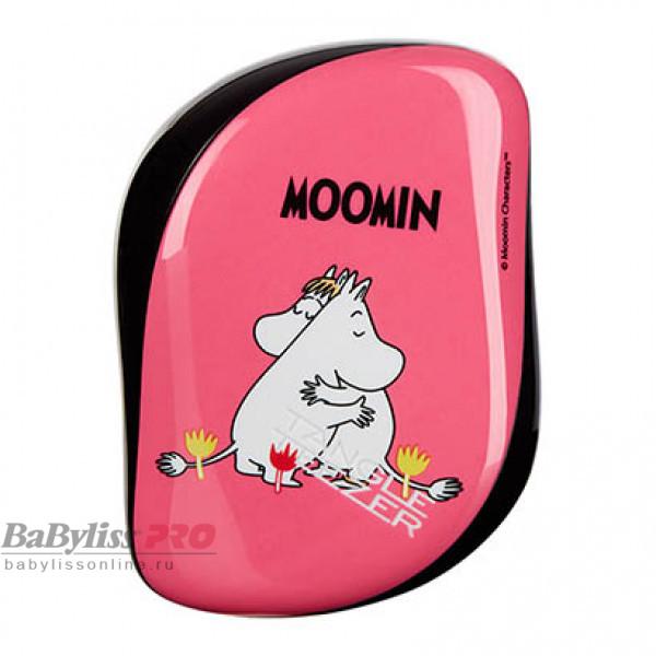 Расческа Tangle Teezer Compact Styler Moomin Pink Розовый 2130