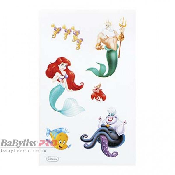 Расческа Tangle Teezer The Original Disney Princess Ariel Коралловый/Мятный 2138