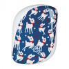 Расческа Tangle Teezer Compact Styler Prancing Deer Синий/Белый 2144