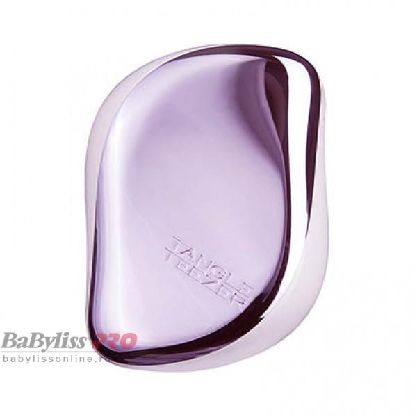 Расческа Tangle Teezer Compact Styler Lilac Gleam Лиловый хром 2150