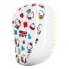Расческа Tangle Teezer Compact Styler Hello Kitty Happy Life Белый/Желтый 2169