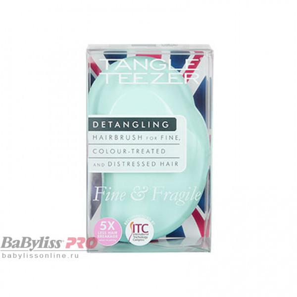 Расческа Tangle Teezer Fine & Fragile Mint Violet Мятный/Сиреневый 2171