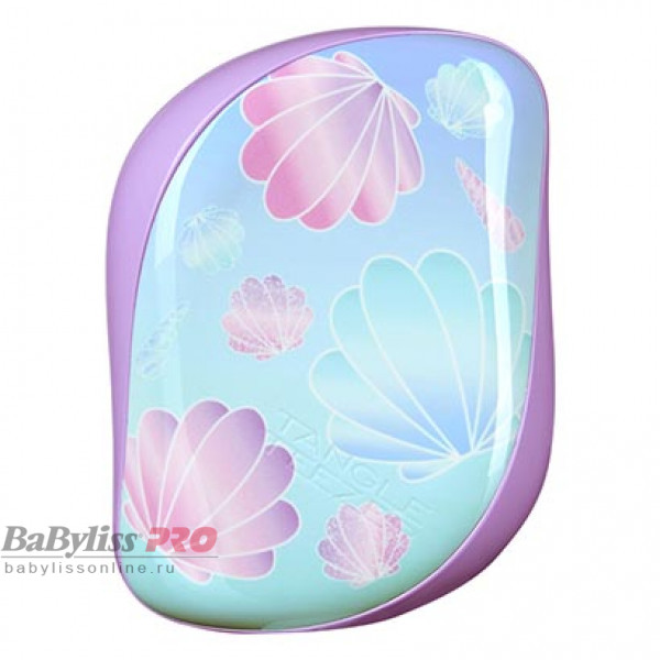 Расческа Tangle Teezer Compact Styler Seashells Лиловый/Голубой 2172