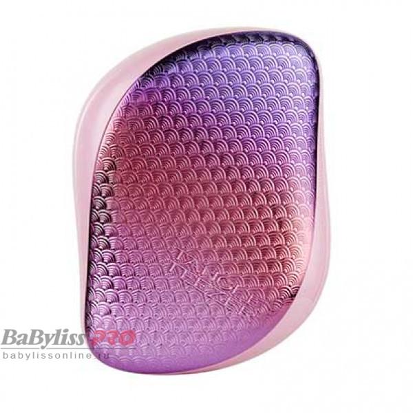 Расческа Tangle Teezer Compact Styler Sunset Pink Сиреневый/Розовый хром 2177