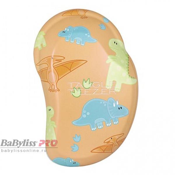 Расческа детская Tangle Teezer The Original Mini Mighty Dino Мятный/Оранжевый 2192