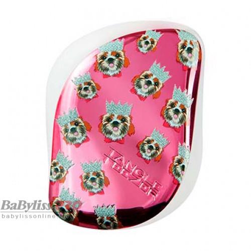Расческа Tangle Teezer Compact Styler Lucy & Lydia Prince Harley Розовый/Белый 2196