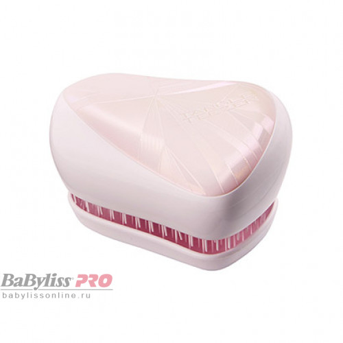Расческа Tangle Teezer Compact Styler Smashed Holo Pink Розовый/Белый 2200