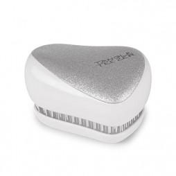 Расческа Tangle Teezer Compact Styler Silver Glitter Белый/Серебряный 2206