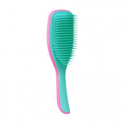Расческа Tangle Teezer The Large Wet Detangler большая Hyper Pink Розовый/Голубой 2208
