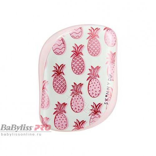 Расческа Tangle Teezer Compact Styler Skinny Dip Pineapple Розовый/белый 2211