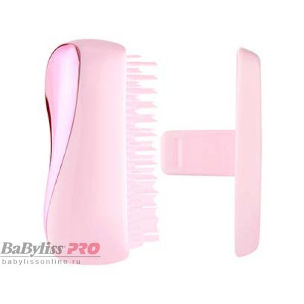 Расческа Tangle Teezer Compact Styler Baby Doll Pink Chrome Розовый металлик/розовый 2214