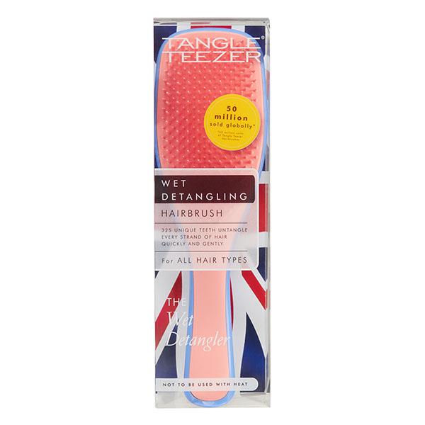 Расческа Tangle Teezer The Wet Detangler Apricot Blaze Голубой/Розовый 2251