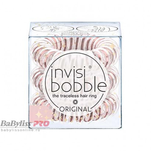 Резинка-браслет для волос invisibobble Original You're on My Wishlist Прозрачный/Розовый 3 шт 3171